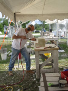 Stone carving: making big rocks smaller with style the carving