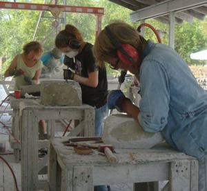 Stone Carving for Women - The Carving Studio & Sculpture Center